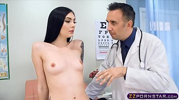 Skinny chick goes to the hospital and fucked hard by the doc