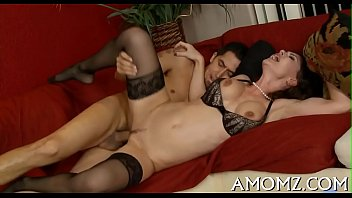 Addicted older in a hot act