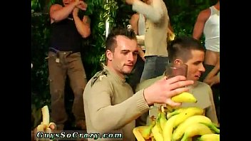 Free gay group anal  first time Dozens of dudes go bananas for