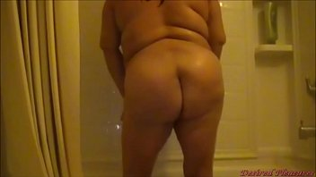 BBW Dancing in Shower Preview