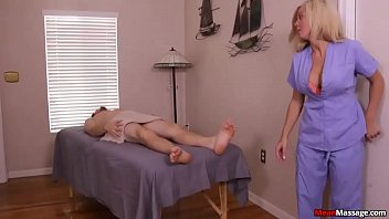 Parker Swayze Full Cock Control On Massage Table 6 min