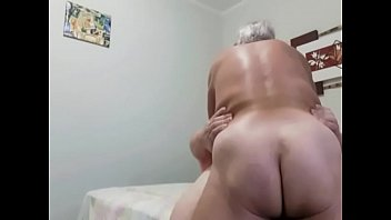 Horny grandpa tops me and cum twice into my chubby ass