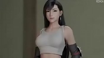 Tifa hard hentai streaming - Tifa goes 1v1