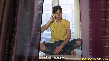 Trick Your GF - Sex surprise Shirley Harris from perverted bf teen porn thumbnail