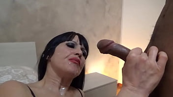 He fucks me good in all positions and then I cum in the mouth