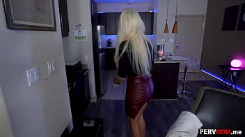 Lapdance from my big boobs stepmom because she needed money thumbnail