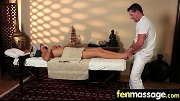 Teen massage gives stud happy ending 13