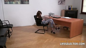 Fucking lady boss' two beautiful daughters - and then the boss! 10 min