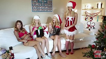 College virgins gone wild - Girls gone wild - horny sorority sisters celebrate christmas with hot lesbian sex