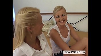 Big cock fucking two sexy blondes in the ass WK-2-01