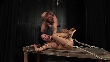 Super whore and super slave tied, humiliated and teached for manner.Part 2.