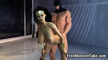 Cartoon free naked woman - Sexy 3d wonder woman getting fucked hard by batmanoman1-high 1