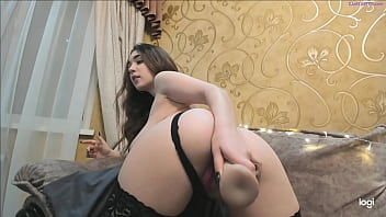 Charming Girls Playing With Her Big Ass