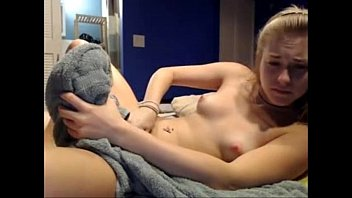 Small Blonde Teen Getting Fucked and Cum at Loveforcams.com
