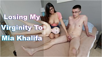 Mia Khalifa first porn audition for BangBros (mk13786)