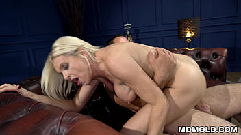 Unbelievably  Good Looking GILF Franny Plays With Young Boy