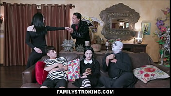 The Addams Family Orgy Parody Featuring Kate Bloom