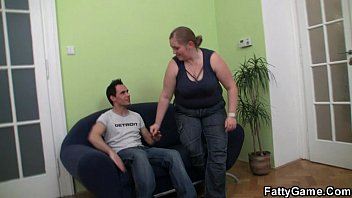 Fatty picks up guy for sex