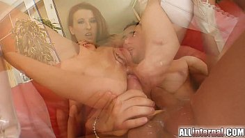 All Internal Enema action prepares their holes for mass creampie Image