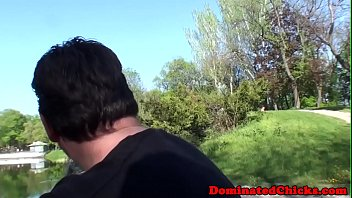 Submissive cutie sucking and fucking