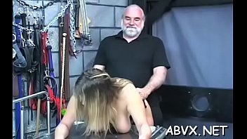 Female orgasm free downloads Hot female fucked and stimulated in way-out bondage