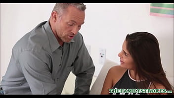 Petite Teen Latina Step Daughter With Braces Katya Rodriguez Home Sick From School Fucked To Orgasm By Step Dad