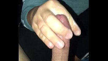 doesn't know I'm recording sound finger fucking man while jacking dick
