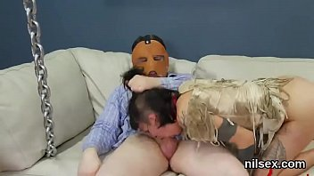 Nasty sweetie is brought in ass hole assylum for painful therapy