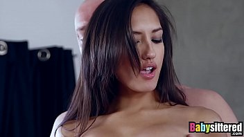 Teen Latina with amazing ass fucked and facialized