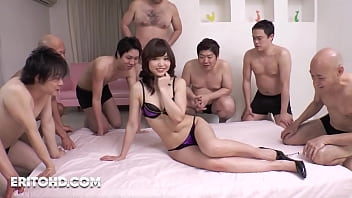 Little Japanese Extremely Hard Fucked in GangBang [Uncensored]