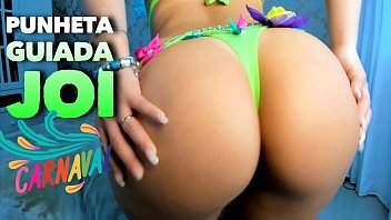 Sexy celebritiy ads Carnaval 2020 - gostosa fazendo voce gozar no carnaval - punheta guiada - joi hot brazilian girl jerk off instruction