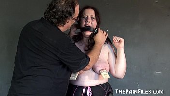 Bbw fat breast Bbw slaveslut rosies breast whipping to tears and extreme bdsm
