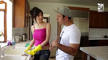 Axxxteca: Lucky Mexican fucks his hot friends mom in the ass Diana Prince 14分钟