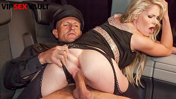VIP SEX VAULT - (Claudia Macc & George Uhl) Czech Blondie Rides Daddy On His Car
