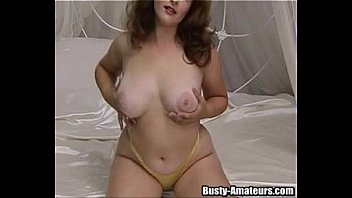 Wet and puffy in action