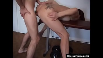 This session at the gym goes horribly awry as this redhead MILF gets banged in her asshole!