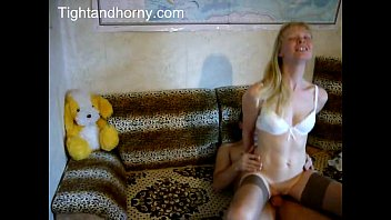 Skinny blonde wife hardcore home video - tightandhorny.com