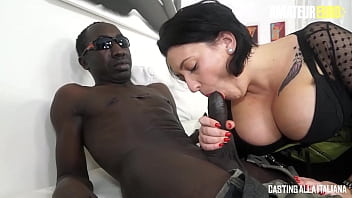 AMATEUR EURO - (Paola Diamante, John Free) - Busty BBW Chick Gets Rough Anal Pounding In Interracial Sex Session
