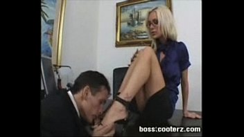 My boss sucks my cock