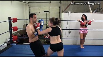 Female asian wrestling aol - Femdom boxing beatdowns - wimp gets dominated