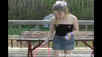 I put on a tiny skirt to go Easter egg hunting in 6 min