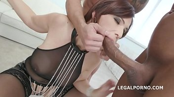 Ball lickin porno - Monsters of tap, syren de mer gets 4on1 balls deep anal, dap, tp, tap, manhandle, swallow gio913