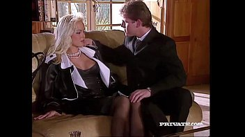 Sexy vintage babes - Silvia saint fucks the lawyer and drains his cum