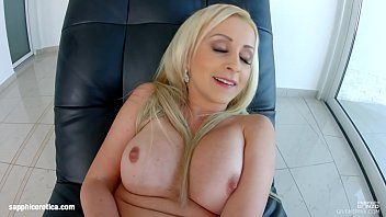 Nina Trevino masturbating on Sapphix