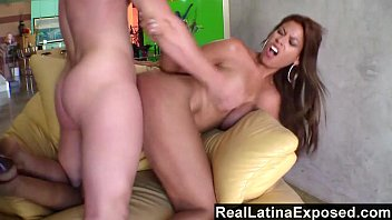 RealLatinaExposed - Bridgette B Plowed on the Couch