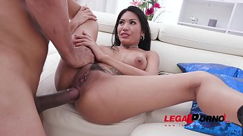 Thailand asian hats Polly pons assfucked balls deep by 3 huge cocks with creampie ending airtight dp sz2328