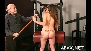 Ametuer bondage spankings Fetish xxx act with legal age teenager obedient and slutty before sex