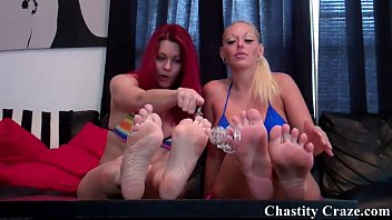 Lick Your Nasty Chastity Device Clean
