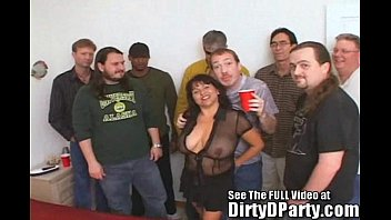 Susie'_s Gang Bang Bukkake Party With Dirty D