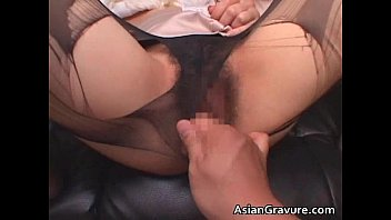Beautiful asian girl sucks cock
